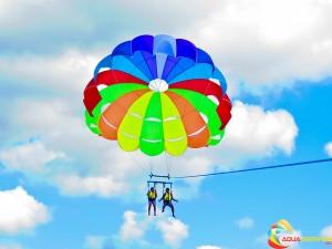 Производство на парашути в Балчик