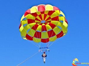 Balchik parachutes