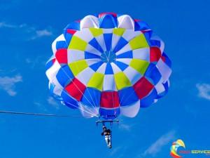 parachutes and fun