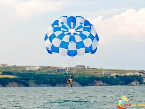 Парасейлинг на Черно море