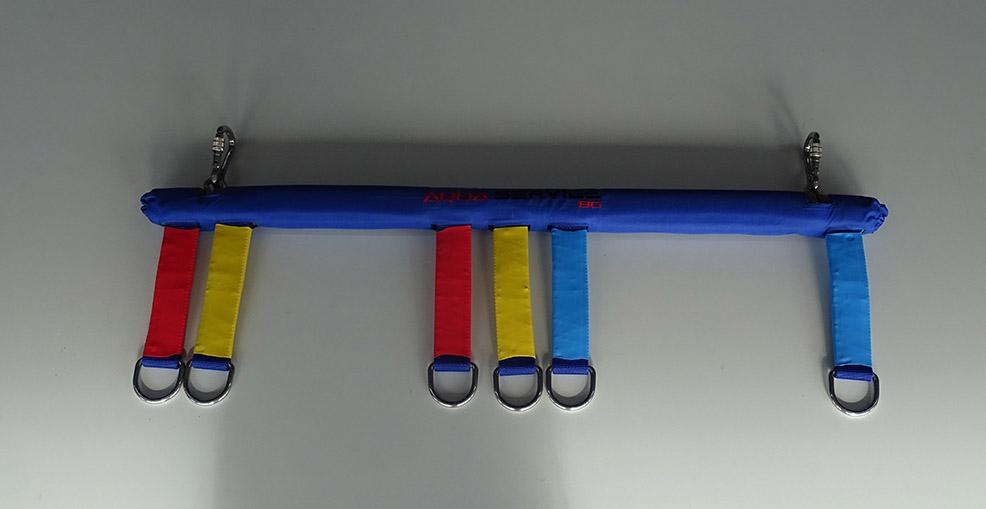 Racks for parachutes
